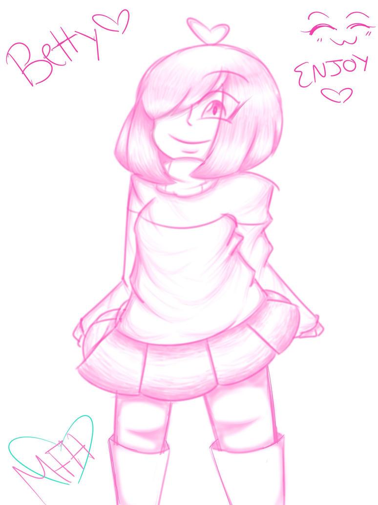 Betty (PinkSketch) by MelodyFuryHeart