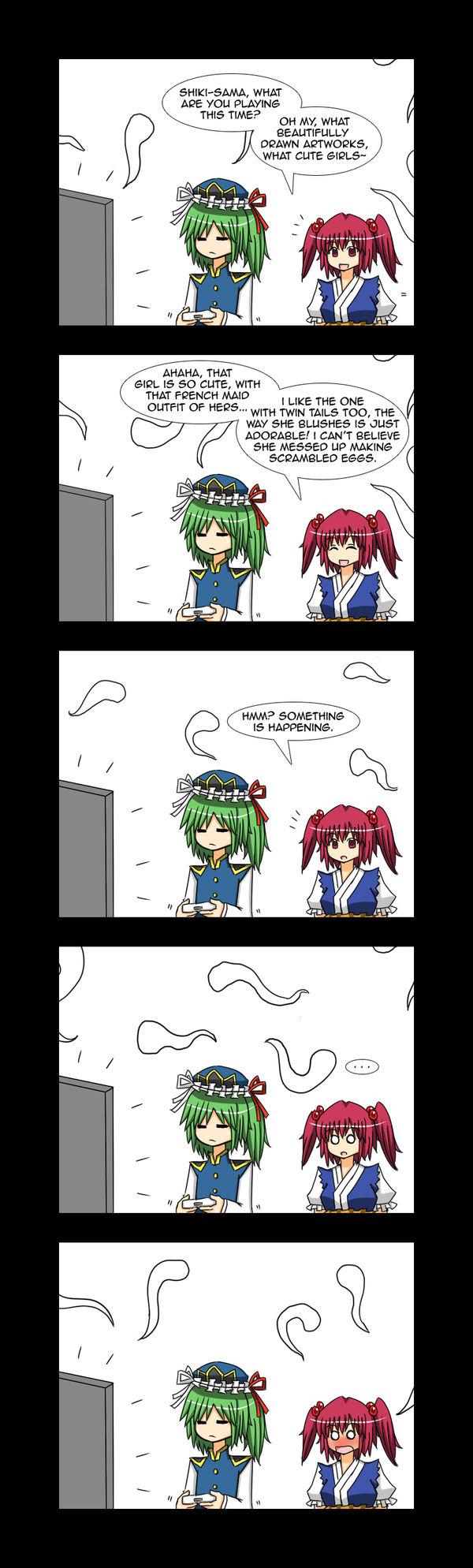 Shikieiki is a Fangirl 7