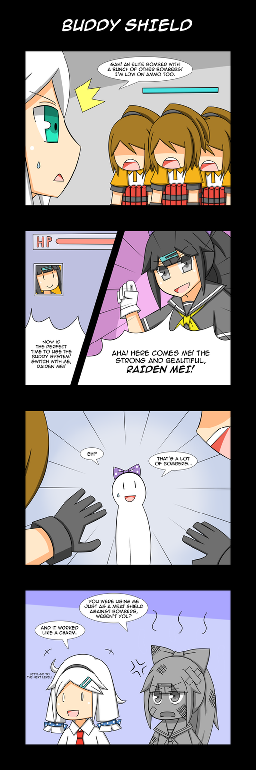 GGZ 4koma - Buddy Shield by LunarisFuryAileron