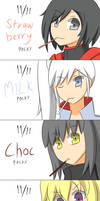 Happy Pocky Day From RWBY