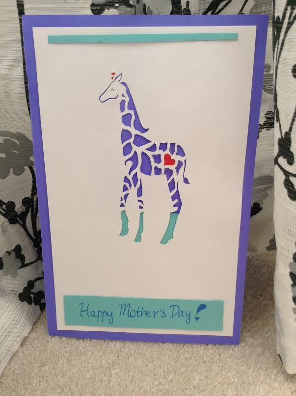 Heart Giraffe by merunicorn