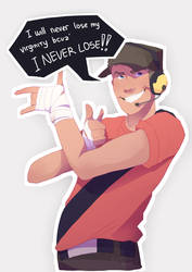 He never lose by Retardedsoup