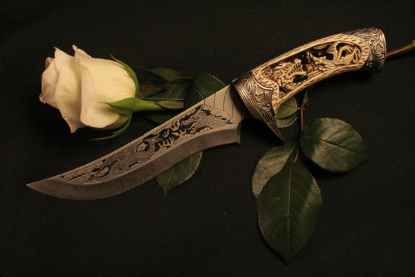 The Rose and the Blade by DawnAllynnStock