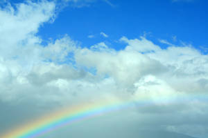 Blue Skies and Rainbows by DawnAllynnStock