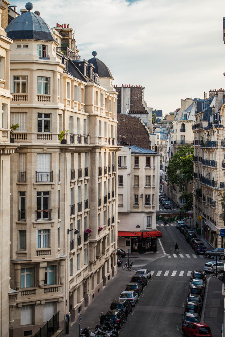 Paris Street by DawnAllynnStock