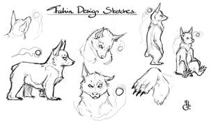 Fahin - first sketches