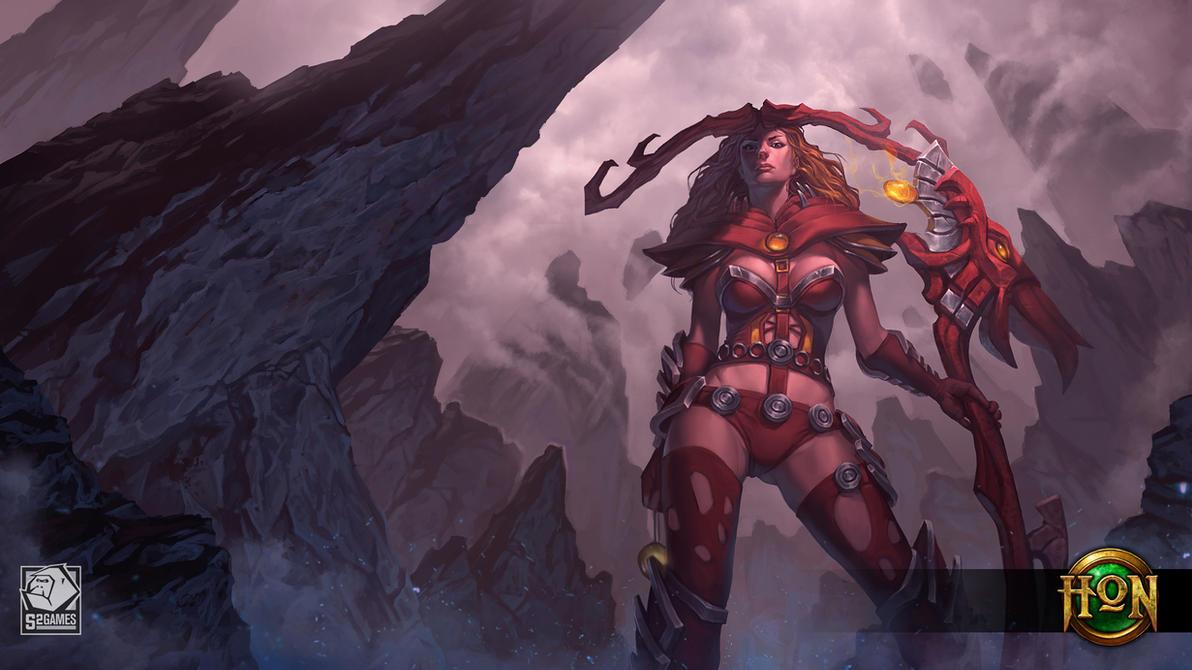 Ragnarok Hel by LhuneArt