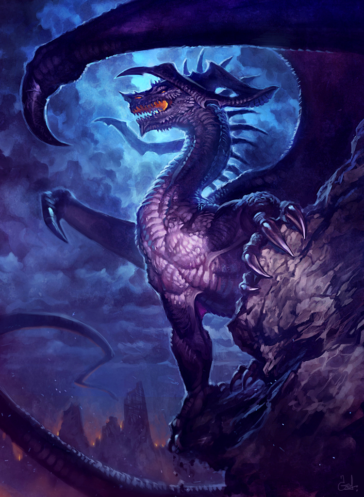 Dragon by LhuneArt