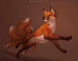 Six Tailed Fox + Process