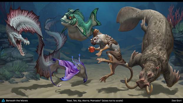 Beneath the Waves: Creatures