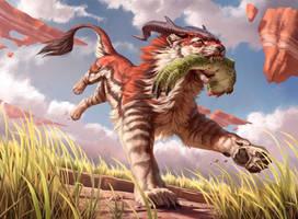 Prowling Felidar