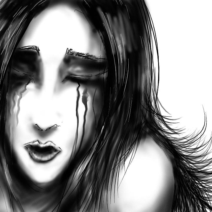 alone Black nd White by zero-scarecrow13