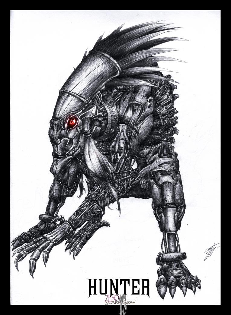 Hunter by zero-scarecrow13