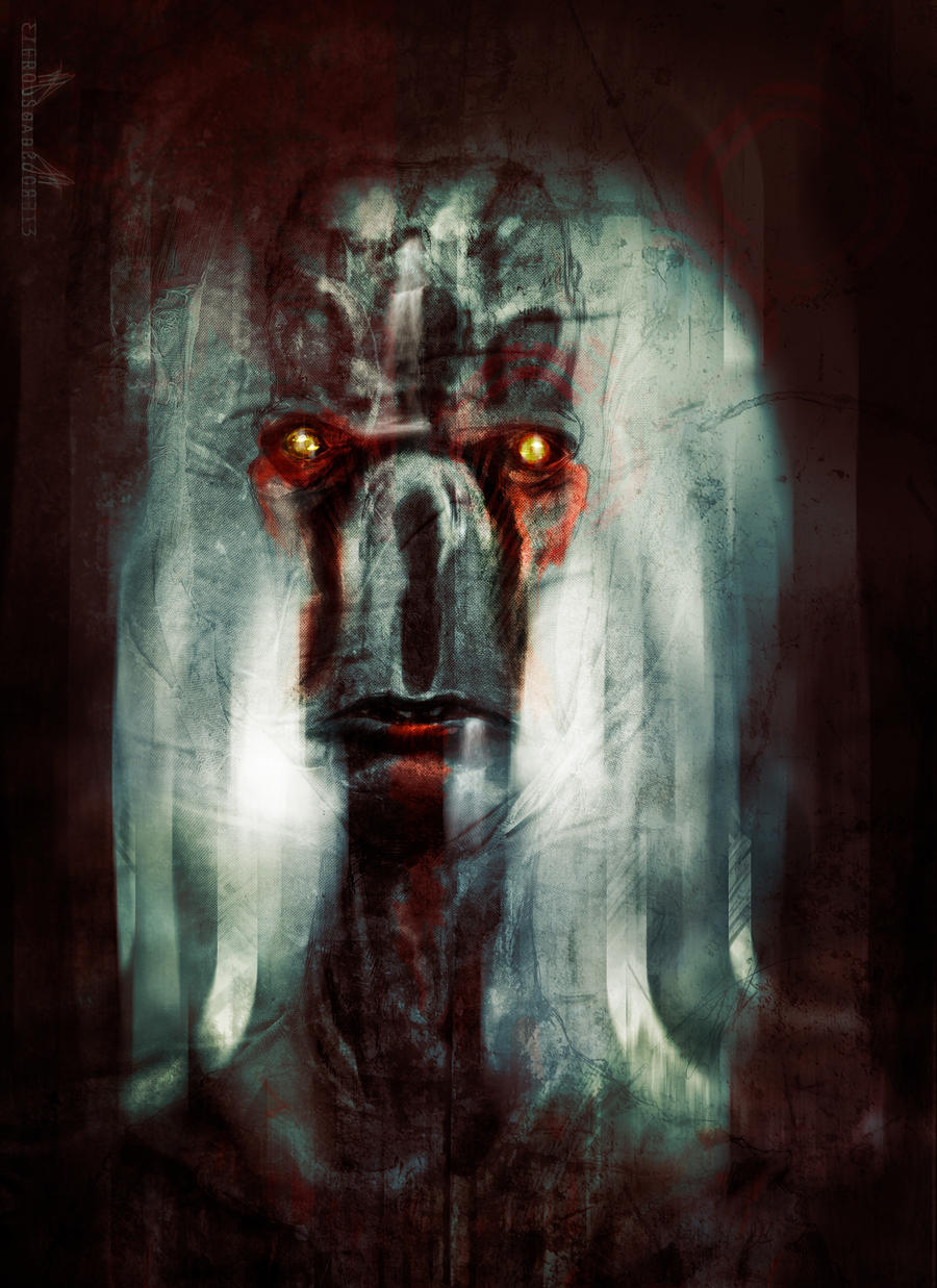 The thing in the Darkness _SpeedPainting_ by zero-scarecrow13