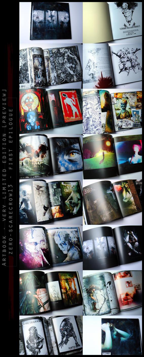 Artbook - first epilogue - preview by zero-scarecrow13