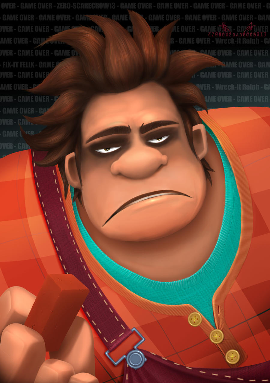 Wreck-It Ralph - Game Over! by zero-scarecrow13