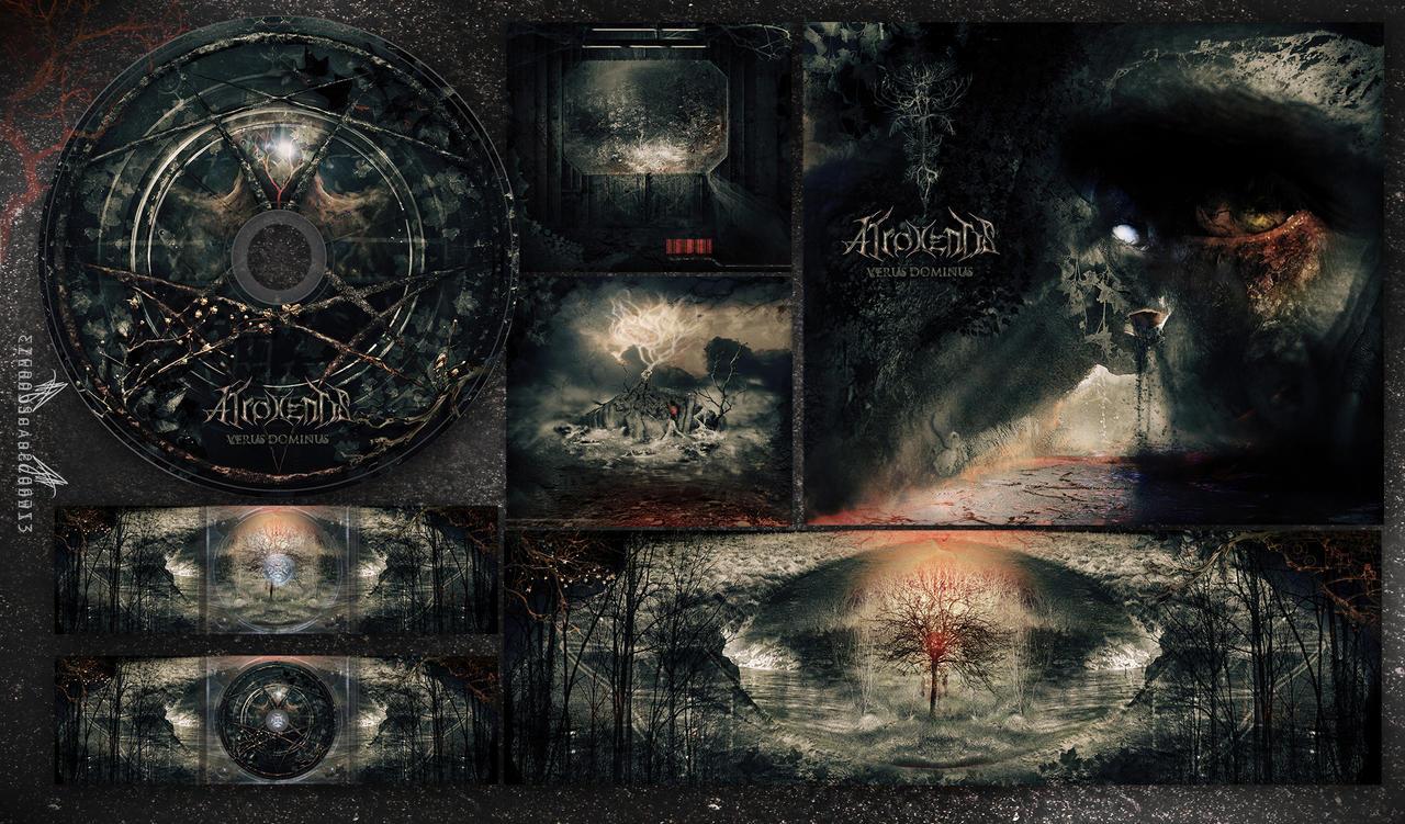 ATROXENTIS - Verus Dominus - Design Digipack by zero-scarecrow13