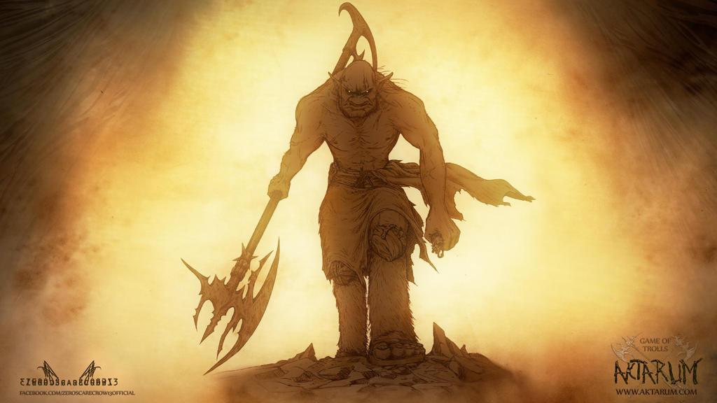 AKTARUM - GAME OF TROLLS - WALLPAPER by zero-scarecrow13