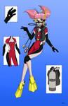 Minami Megumi Scuba (FDE) - Color Commission