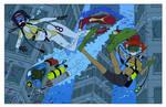 Underwater Bebop - Color Commission