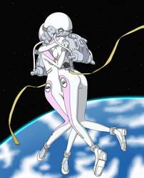 Matsuri Rescues Yukari - Color Commission by The-Sakura-Samurai