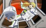 Astrogirl Miki Hoshii - Color Commission by The-Sakura-Samurai