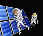 Satellite Repair Astrogirls - Color Commission