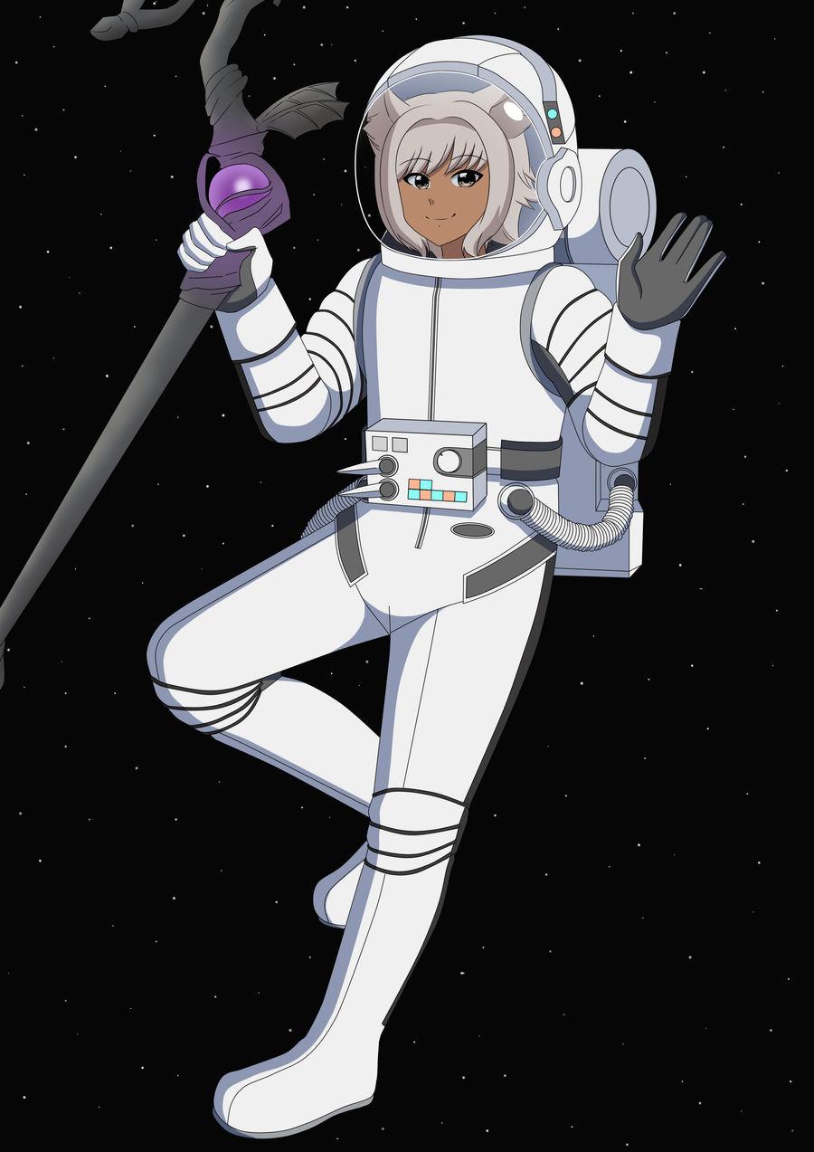 Y'Shtola Astrogirl - Color Commission