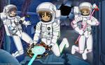 Sakura's Spooky Space Adventure - Color Commission