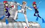 Sakura's Astrogirl Training-500th Color Commission by The-Sakura-Samurai