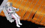 Iori and the Satellite - Color Commission by The-Sakura-Samurai