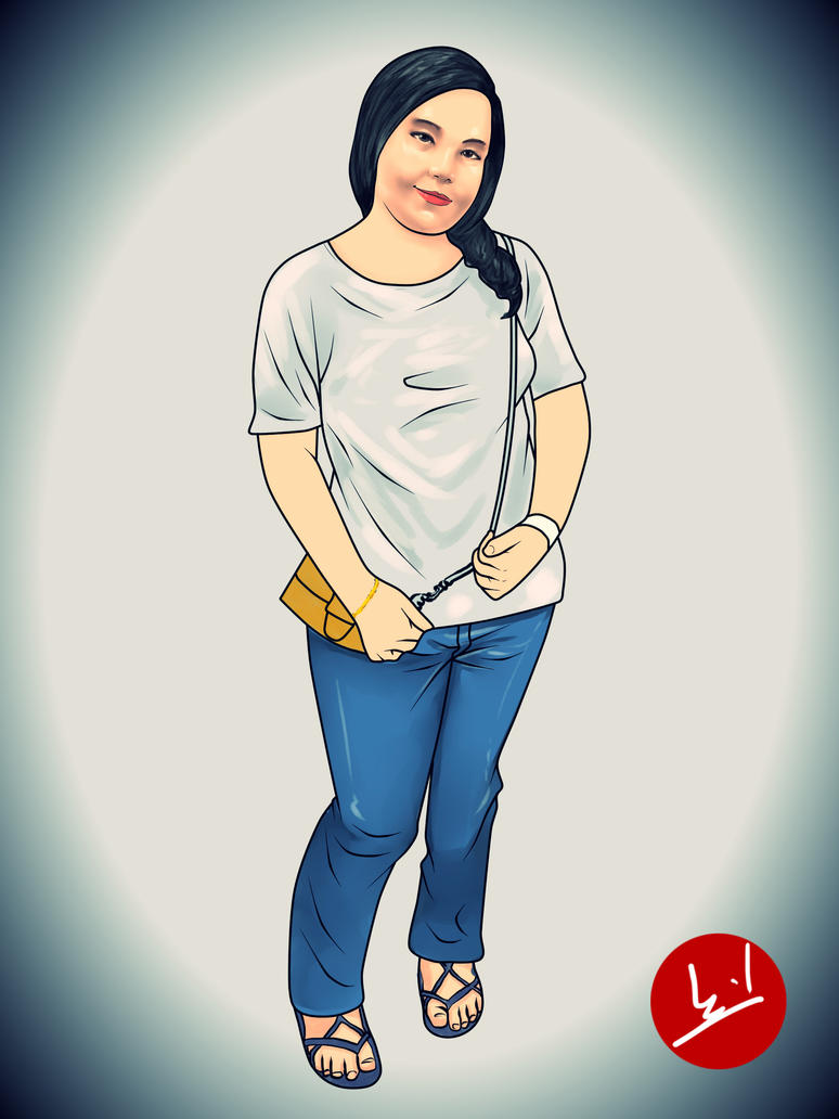 Potret Siti Fadilah by mohdsyukri83