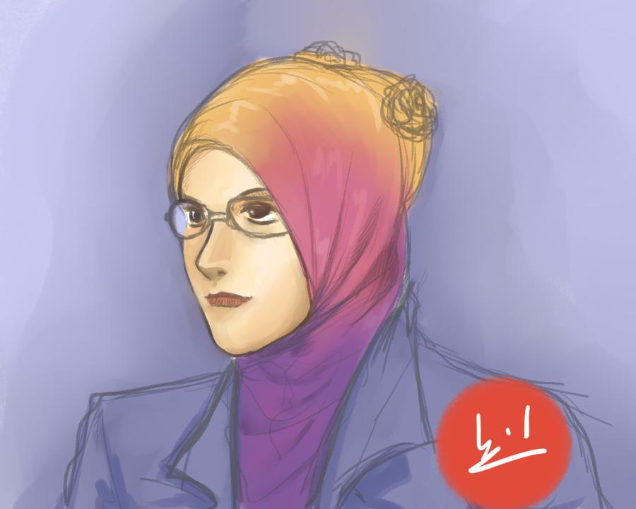 Daily Portrait - Gadis Bertudung by mohdsyukri83