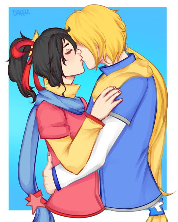 AT: Kiss. by Daffu-T