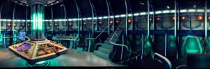 TARDIS interior  dual screen wallpaper [3840x1080]