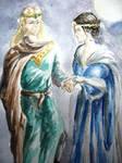 Eomer and Lothiriel-- Wedding