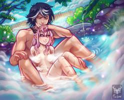 [CM] Nea and Qaji by Foxilumi