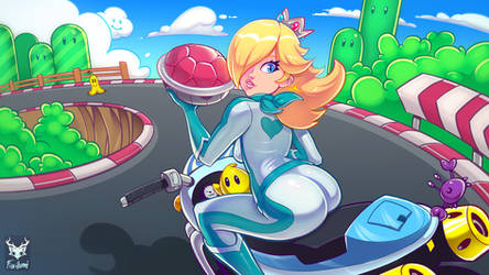 Rosalina (Mario Kart) by Foxilumi