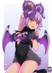 Liz (Noibat Pokemon gijinka) by Foxilumi