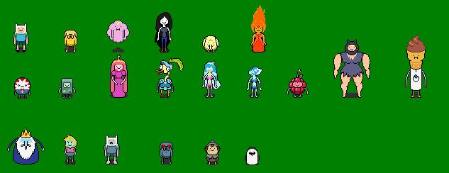 Adventure Time RPG Cast 2.0 by Bentendo222