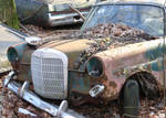 old rusty car 2