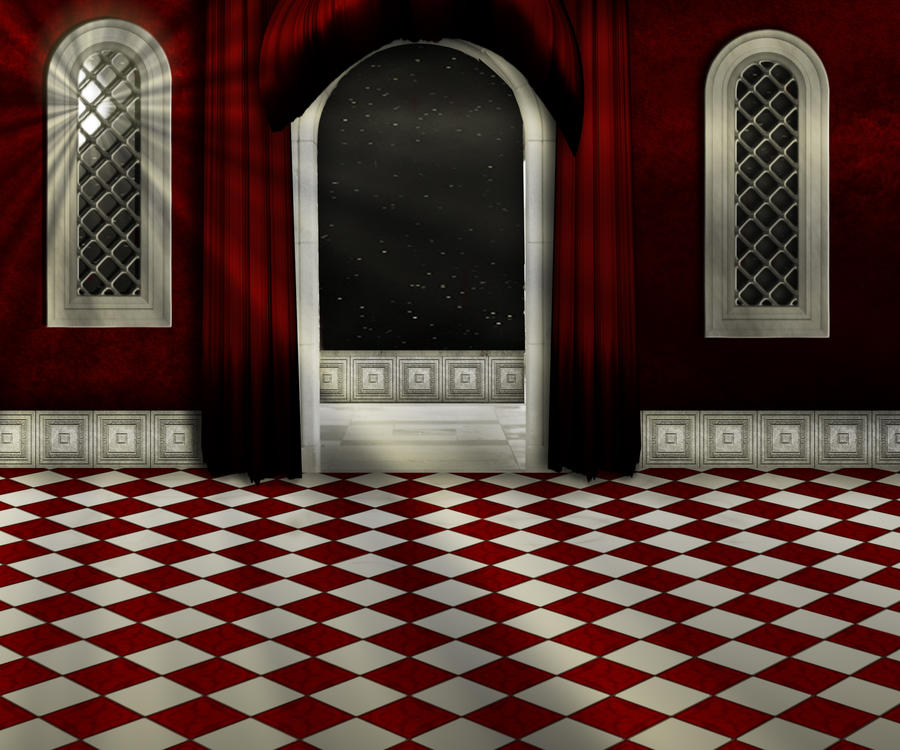 premade gothic style room with light beams by ailaart on DeviantArt