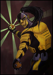 MK tribute: Cyrax