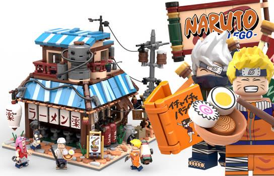 Lego Naruto - Ichiraku Ramen Shop - Promo