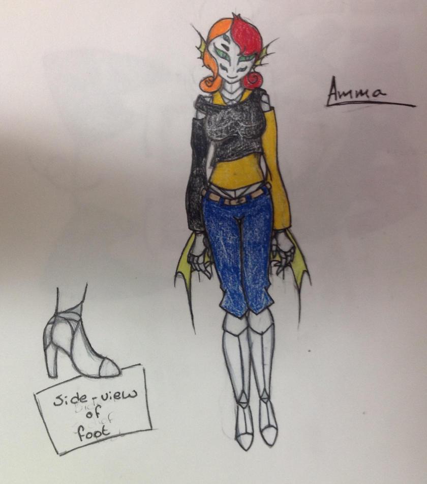 Amma the Marinsect by FoxyVixenBB