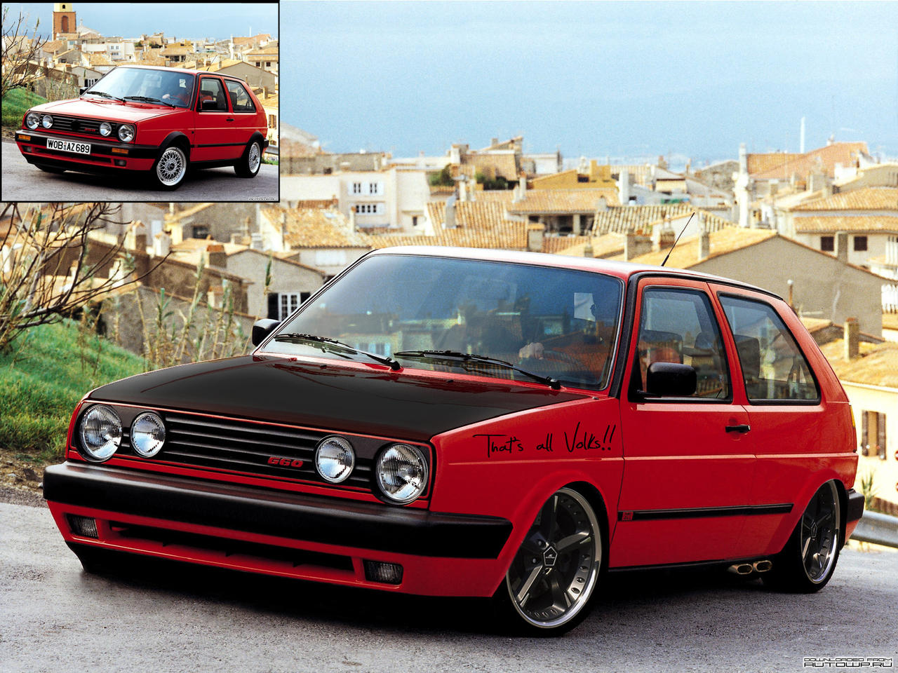 golf ii gti by mp160 on deviantart. Black Bedroom Furniture Sets. Home Design Ideas
