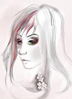 the green eyes girl by FaniArgirova