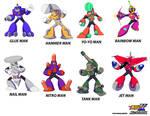 MMUnlimited  Old Robot Masters