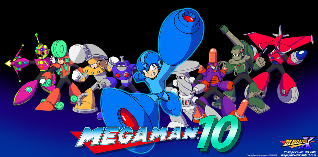 MegaMan Unlimited by MegaPhilX