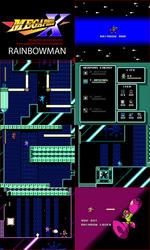 MMUnlimited RainbowMan Screens by MegaPhilX